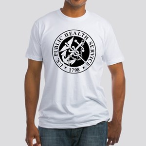 USPHS-Messenger-X Fitted T-Shirt
