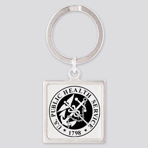 USPHS-Messenger-X Square Keychain