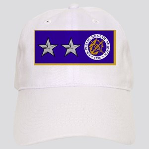 USPHS-RADM-Nametag-Blue Cap