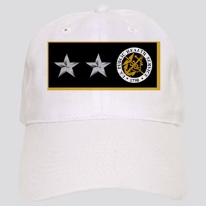 USPHS-RADM-Nametag-Black-2 Cap