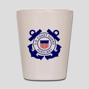 USCGAux-Logo-Bonnie Shot Glass