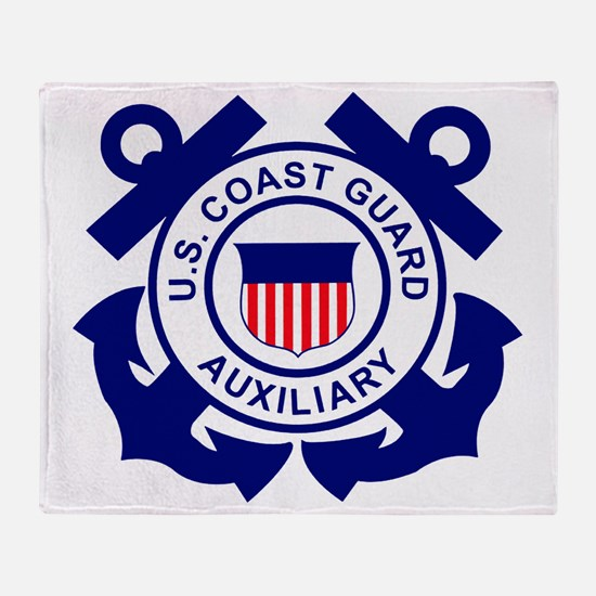 USCGAux-Logo-Bonnie.gif Throw Blanket