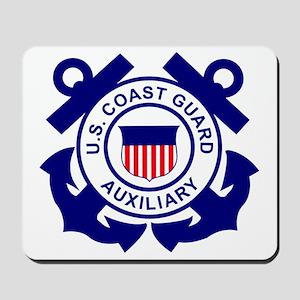 USCGAux-Logo-Bonnie Mousepad