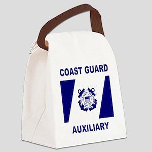 USCGAux-Flag-Shirt-1 Canvas Lunch Bag