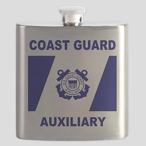 USCGAux-Flag-Shirt-1 Flask