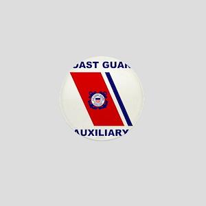 USCGAux-Racing-Stripe-Shirt Mini Button