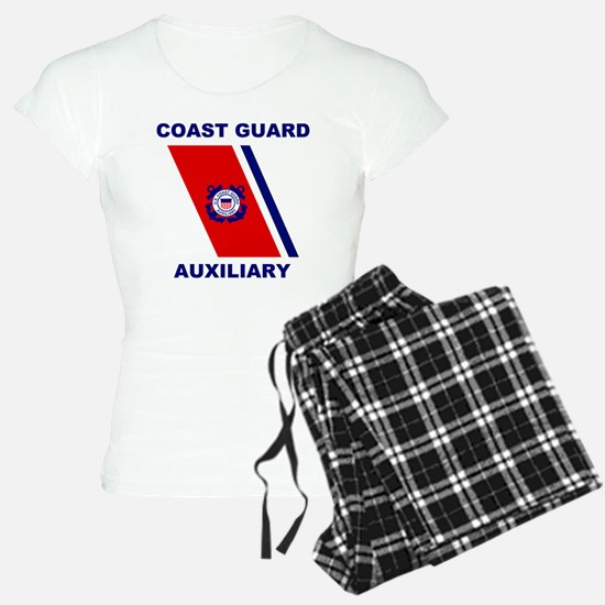USCGAux-Racing-Stripe-Shirt Pajamas