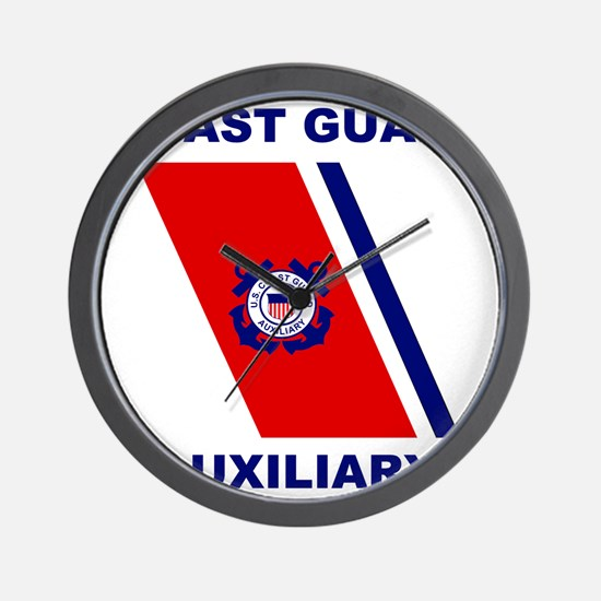 USCGAux-Racing-Stripe-Shirt.gif Wall Clock