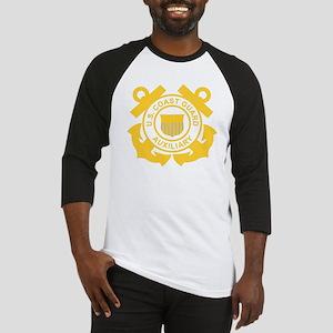 USCGAux-Black-Shirt Baseball Jersey