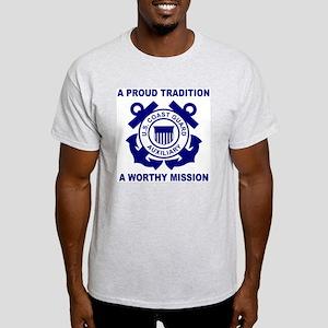 USCGAux-Pride-Shirt-3 Light T-Shirt