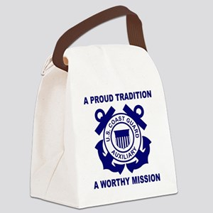 USCGAux-Pride-Shirt-3 Canvas Lunch Bag