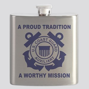 USCGAux-Pride-Shirt-3 Flask