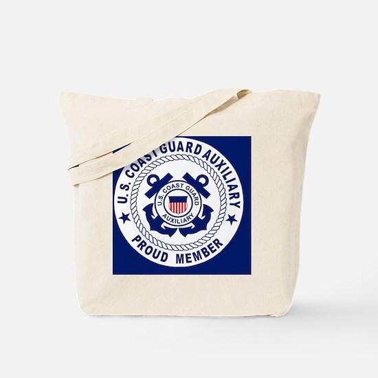 USCGAux-Pride-Button.gif Tote Bag