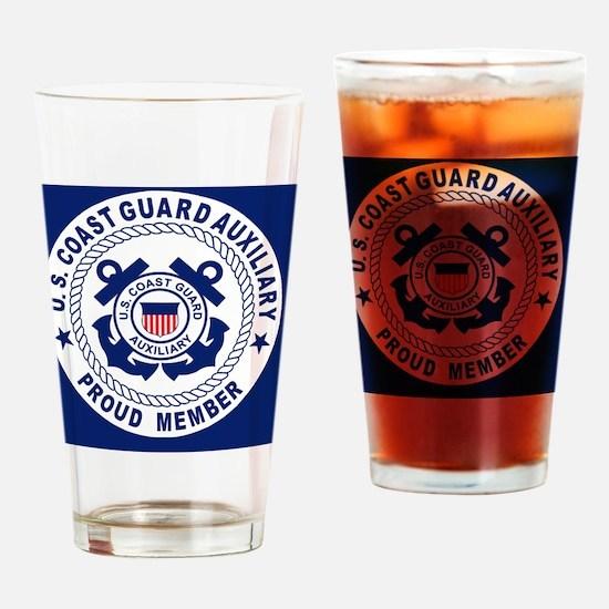 USCGAux-Pride-Button.gif Drinking Glass