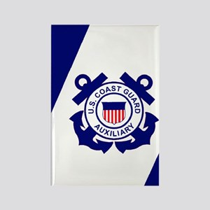 USCGAux-Flag-Journal Rectangle Magnet