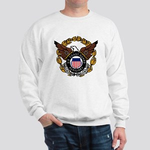 USCGAux-Eagle-Colored Sweatshirt