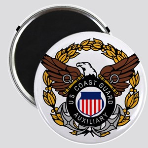 USCGAux-Eagle-Colored Magnet