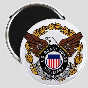 USCGAux-Eagle-Colored Magnet