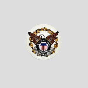 USCGAux-Eagle-Colored Mini Button