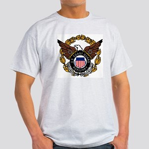 USCGAux-Eagle-Colored Light T-Shirt
