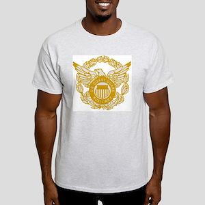 USCGAux-Eagle-Silver Light T-Shirt