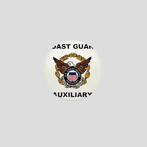 USCGAux-Eagle-Shirt Mini Button