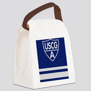 USCGAux-Rank-VFC-Journal Canvas Lunch Bag