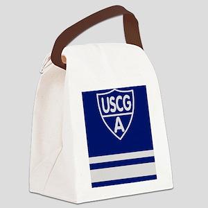 USCGAux-Rank-VFC-Journal Canvas Lunch Bag