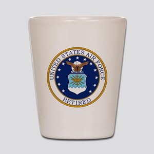 USAF-Retired-Bonnie Shot Glass