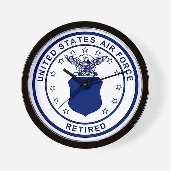 USAF-Retired-Blue-Bonnie.gif Wall Clock