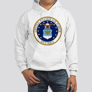 USAF-Retired-Bonnie Hooded Sweatshirt