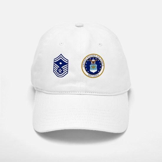 USAF-Retired-1SgtE8-Mug.gif Baseball Baseball Cap