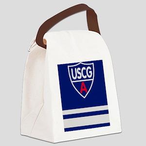 USCGAux-Rank-SO-Journal Canvas Lunch Bag