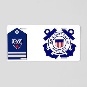 USCGAux-Rank-SO-Mug Aluminum License Plate