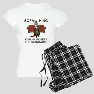 Sofa-King-Shirt-Front Women's Light Pajamas