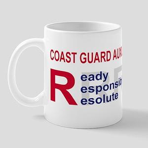USCGAux-RRR-BSticker Mug