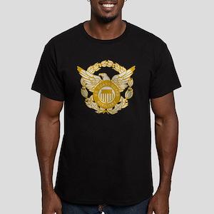 USCGAux-Black-Shirt-7X Men's Fitted T-Shirt (dark)