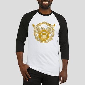 USCGAux-Black-Shirt-7X Baseball Jersey