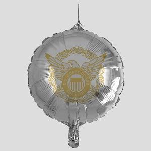 USCGAux-Black-Shirt-7X Mylar Balloon