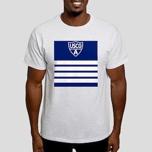 USCGAux-Rank-VCO-Mousepad Light T-Shirt