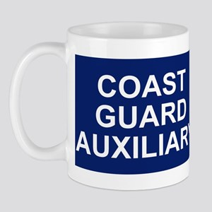 USCGAux-Rank-VCO-BSticker Mug