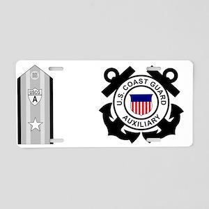 USCGAux-DCO-Mug Aluminum License Plate