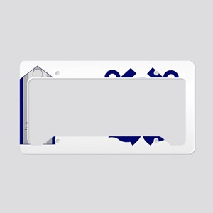 USCGAux-Rank-NACO-Mug License Plate Holder
