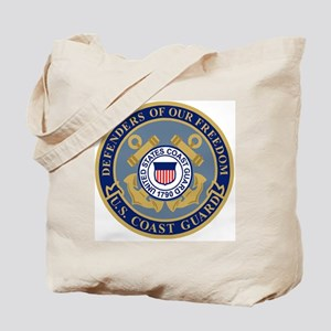 USCG-Defenders-Blue-Blue Tote Bag