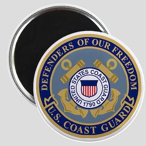 USCG-Defenders-Blue-Blue Magnet