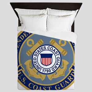 USCG-Defenders-Blue-Blue Queen Duvet