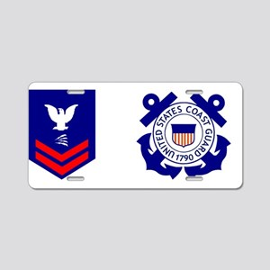 USCG-TC2-Mug Aluminum License Plate