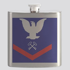 USCG-SK3-Tile Flask