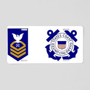 USCG-SKC-Mug Aluminum License Plate
