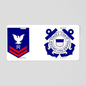 USCG-SK2-Mug Aluminum License Plate